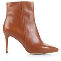Gianna Pointy Stiletto Boot -  tan