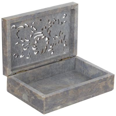 Rectangle Soapstone Box