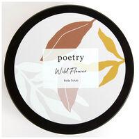 Wild Flower Body Scrub -  pink-ochre