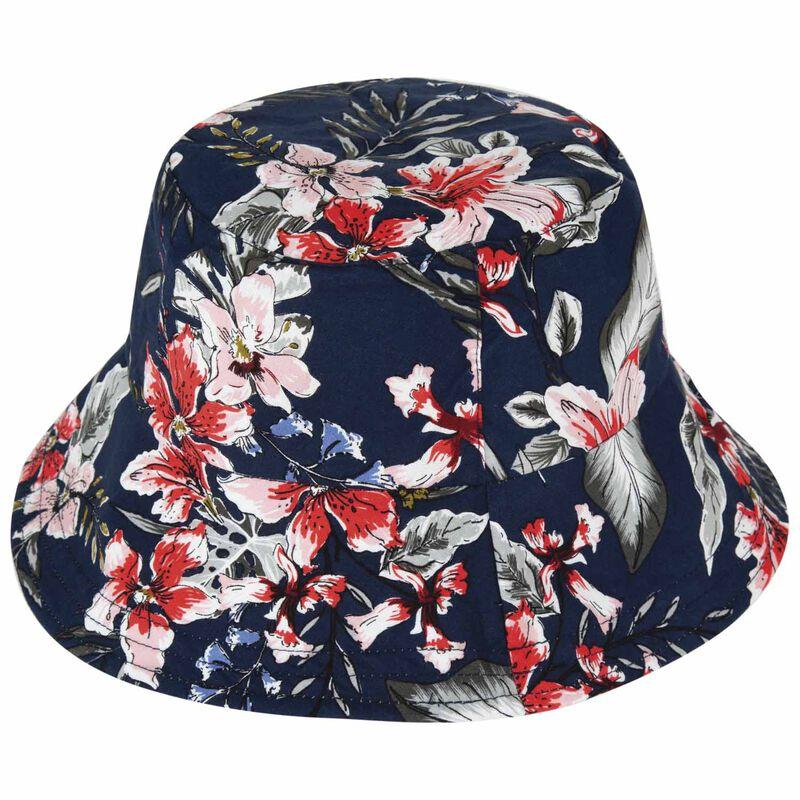 Allison Reversible Bucket Hat -  sage-assorted