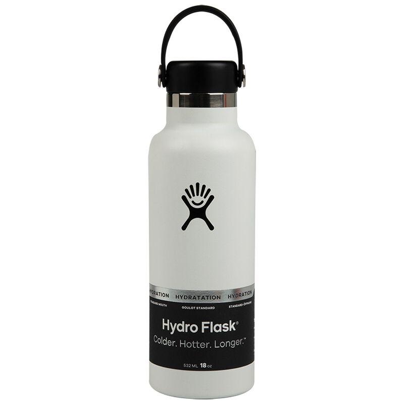 White Hydro Flask -  white