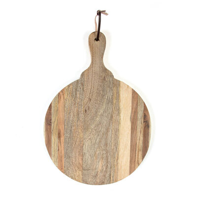 Round Wooden Paddle Board