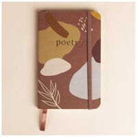 Terracotta Abstract Notebook -  assorted