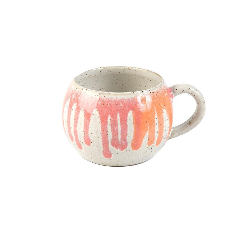 Pink Rounded Mug -  pink