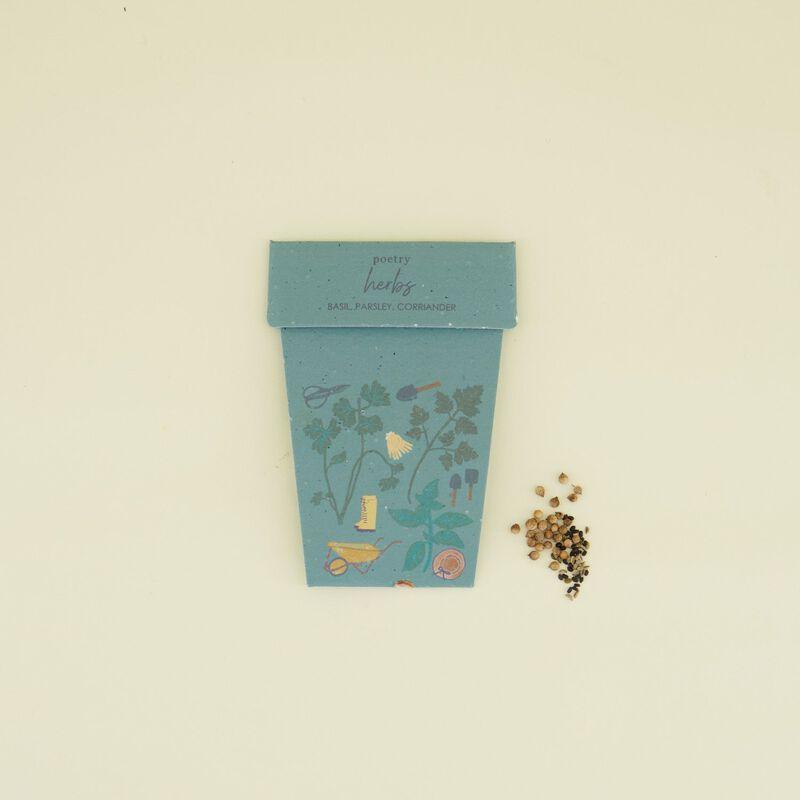 Herb One Pot Card -  c99