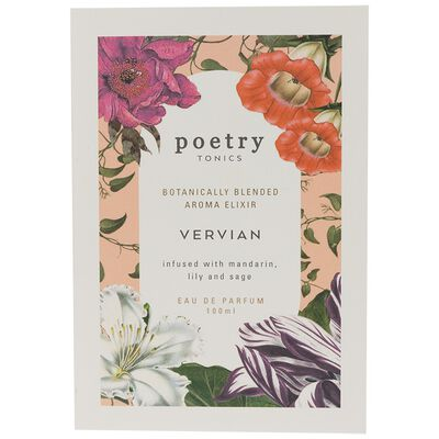 Vervian Tonic by Poetry