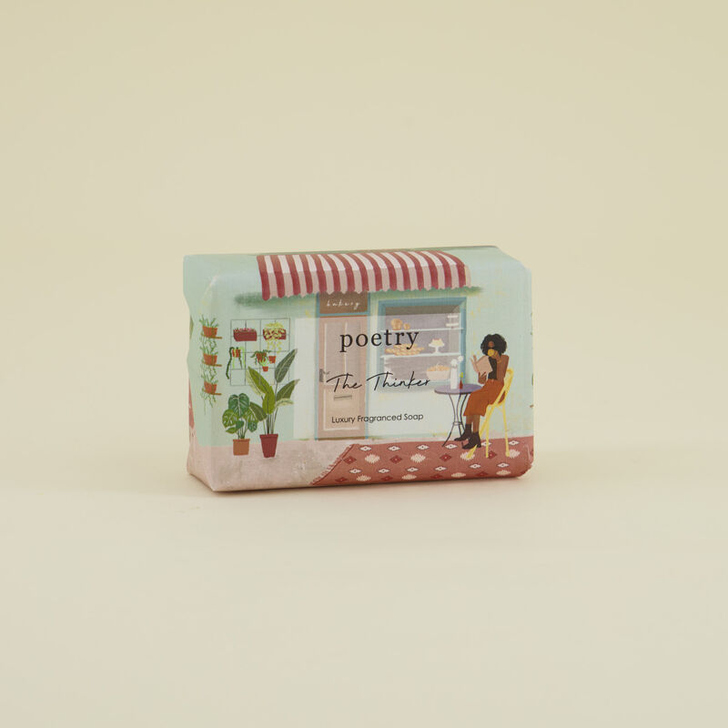 The Thinker Soap Bar -  assorted