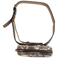 Zariah Vegan Leather Oval Belt Bag -  assorted