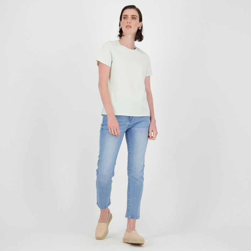 Des Cotton T-Shirt -  sage