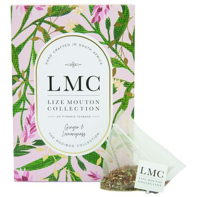 LMC Ginger and Lemongrass Tea