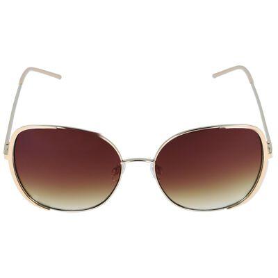Enamel Metal Inset Sunglasses