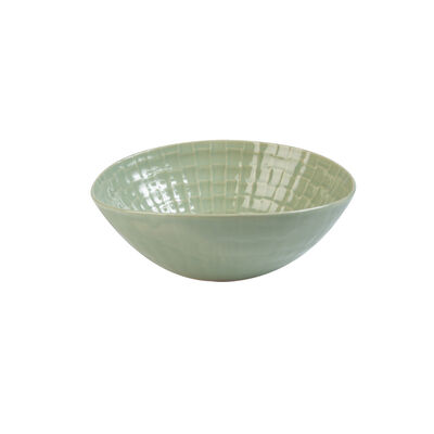 Wonki Ware Sage Party Bowl
