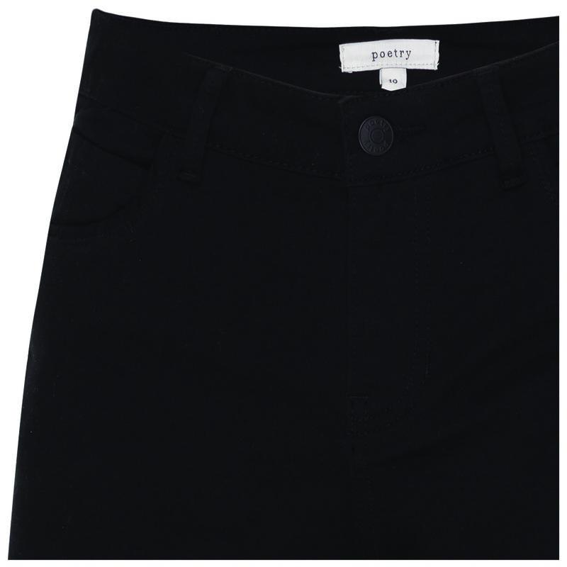 Viviana Straight Leg Denim -  black