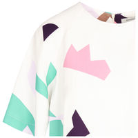 Minka Pop Over Blouse -  milk