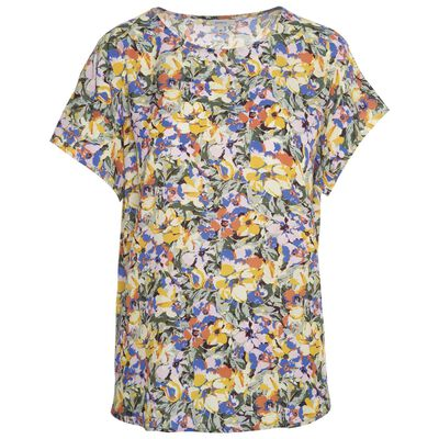 Rosy Floral Blouse
