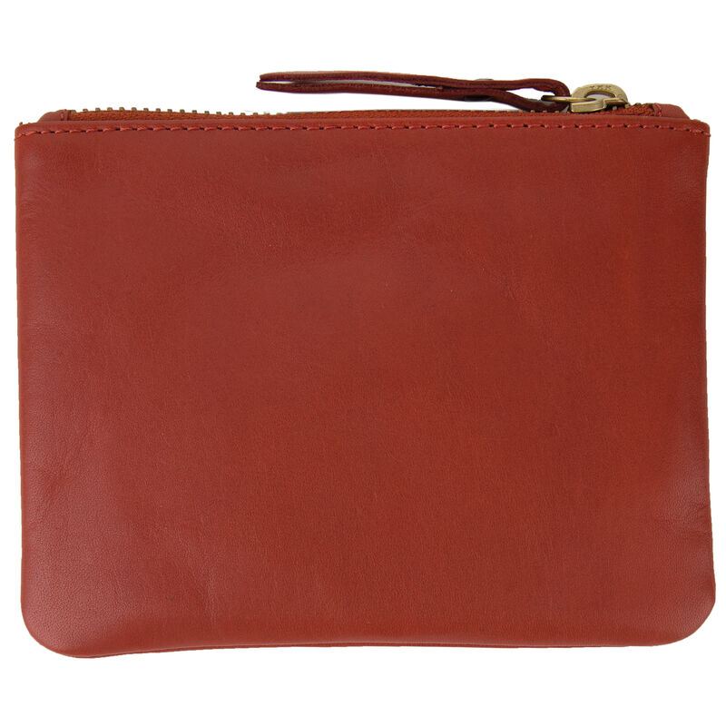 Moira Leather Small Pouch -  dustypink