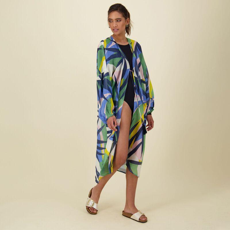 Haley Abstract Kimono -  dc9900