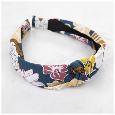 Knotted Floral Alice Band