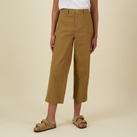 Yanet Relaxed Pants -  camel