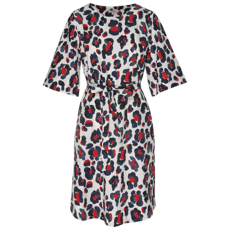 Zula Cheetah Tunic Dress -  stone