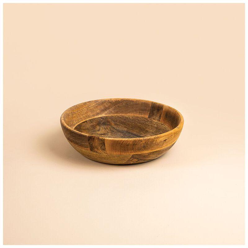 Acacia Wood Bowl -  brown