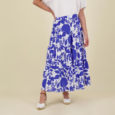 Lexi Printed Tiered Skirt