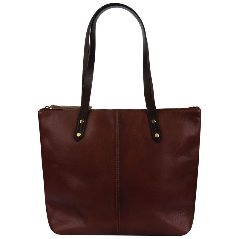 Rare Earth Kori Leather Shopper -  brown-brown