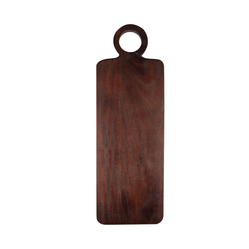 Black Acacia Serving Board -  black