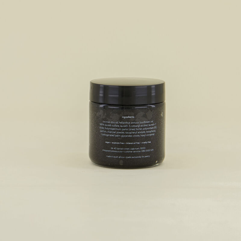 Coal Activated Charcoal Scrub -  c01