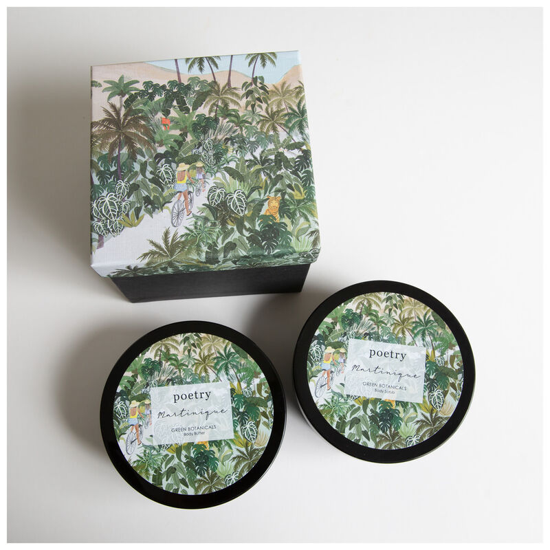 Martinque Body Butter and Body Scrub Gift Set -  assorted