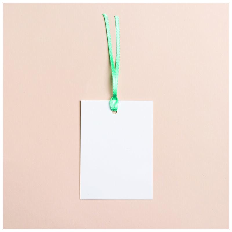 Love Letters Mint Chintz Tag -  green