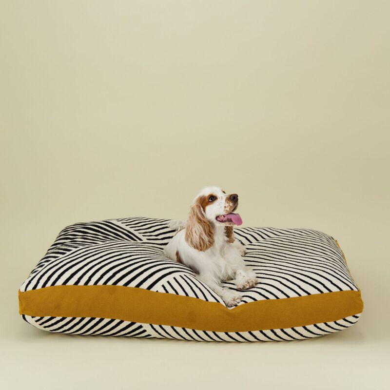 Black & Milk Striped Dog Pillow XL -  assorted