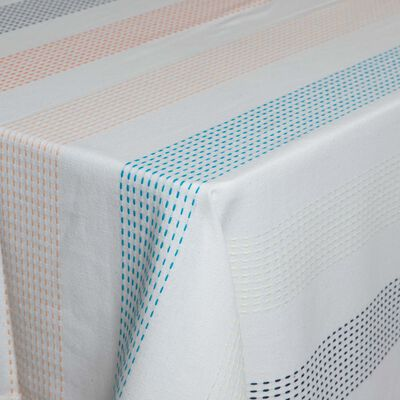 Stripe Tassel Tablecloth
