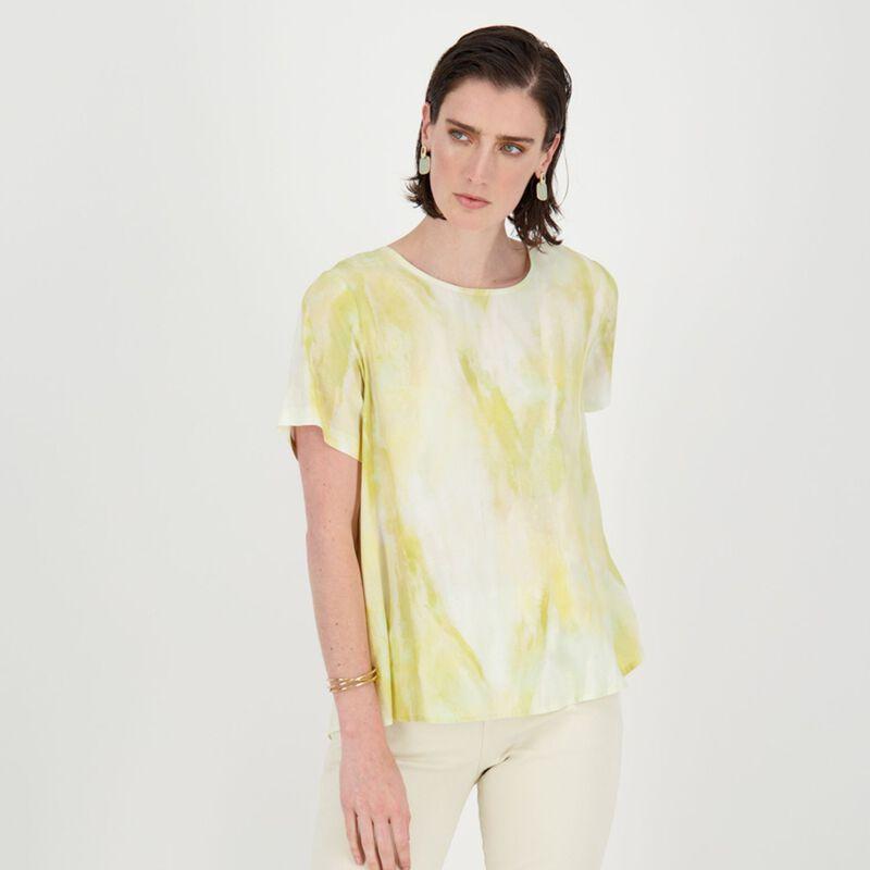 Gabriella Printed Tunic -  yellow
