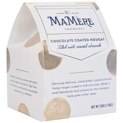 MaMère Chocolate Coated Roasted Almond Nougat