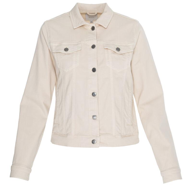Shazzy Denim Jacket -  bone