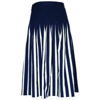 Edi Pleated Skirt -  navy