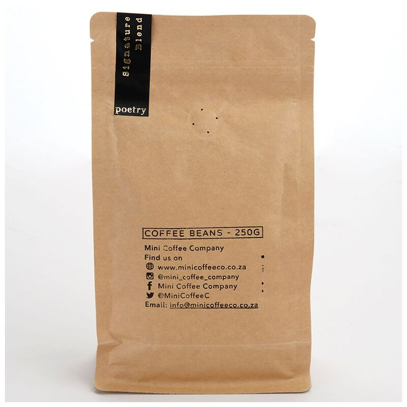 Poetry Signature Blend Coffee Beans -  black