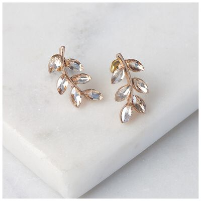 Paste Leaf Earrings
