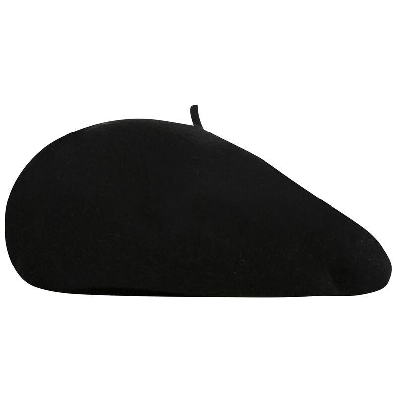 Millie Wool Beret -  black