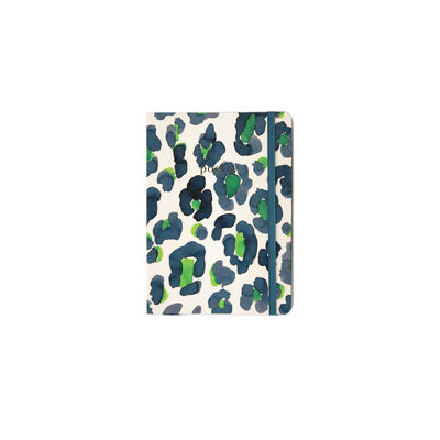 Blue and Green Leopard Notebook