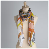 Giada Linear Printed Scarf -  assorted