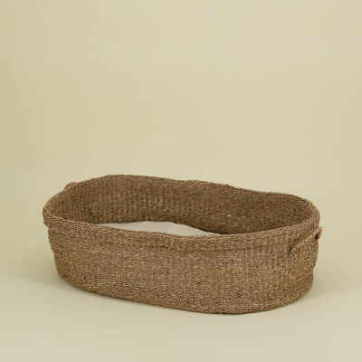 Seagrass Dog Bed with Pillow