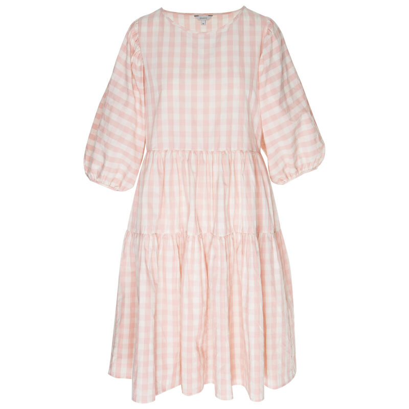 Harlyn Tiered Dress -  pink