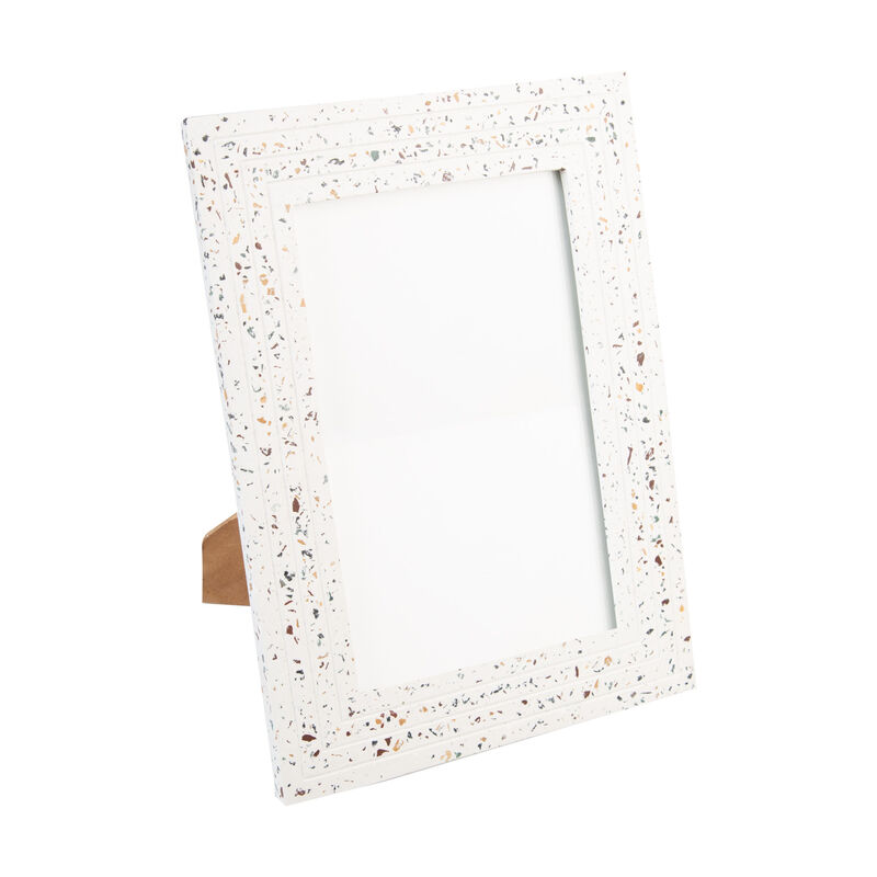 Large Terrazzo Frame -  white-assorted