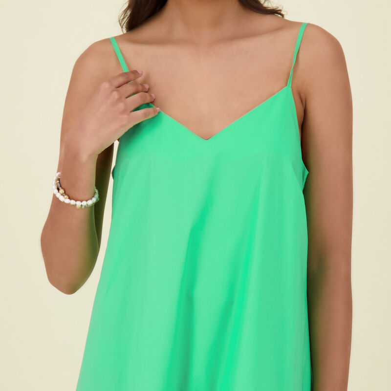 Weston Fit & Flare Dress -  green