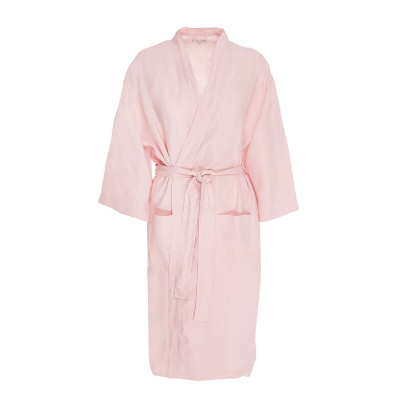Hunny Linen Gown -  pink