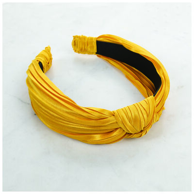 Pleated Knotted Alice Band