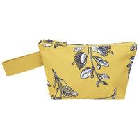 Malia Floral Pouch -  yellow-milk