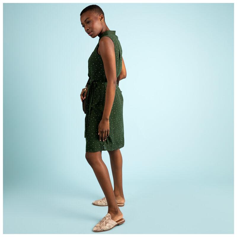 Sarai Shirt Dress -  olive